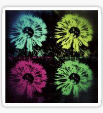 Pop Art Dandelion Flower Pillow Phone Case Wallet, Bag etc. Most popular Sticker