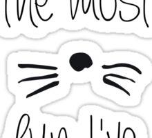The Most Fun Sticker