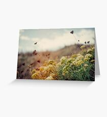 Meadow of Wildflowers Greeting Card