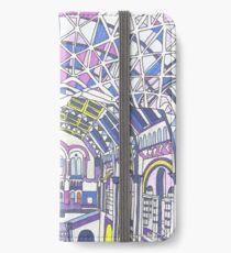 London Composition 1 iPhone Wallet/Case/Skin