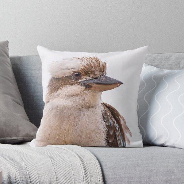 Laughing Kookuburra Throw Pillow