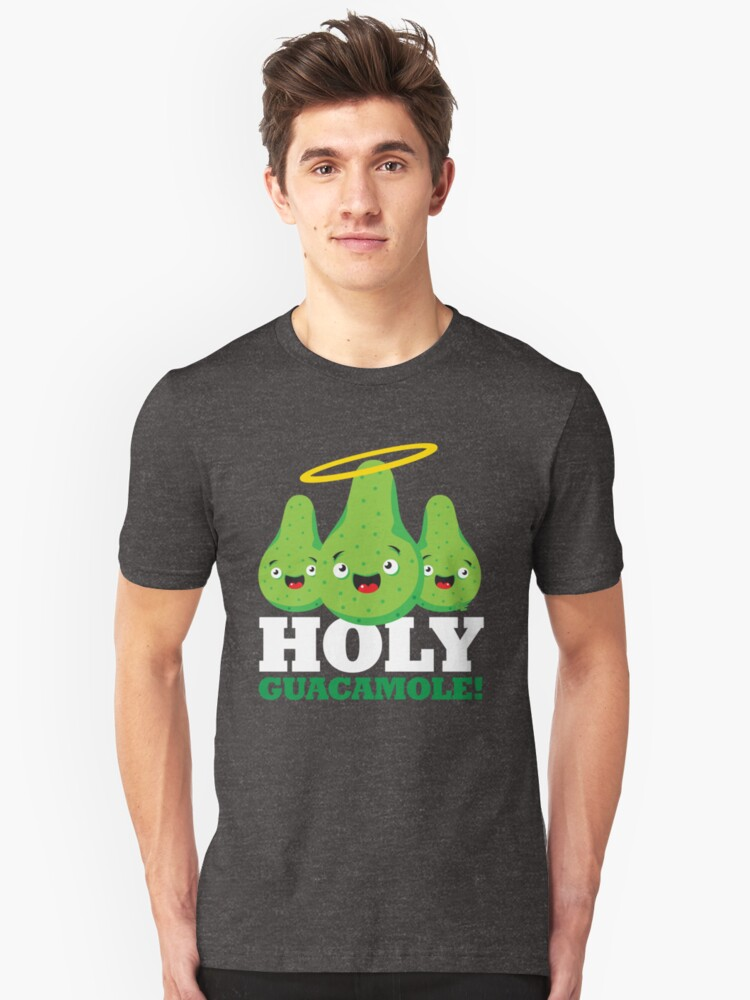 Holy Guacamole! (Dark Version) Unisex T-Shirt Front