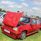 Red Renault GT Turbo by Vicki Spindler (VHS Photography)