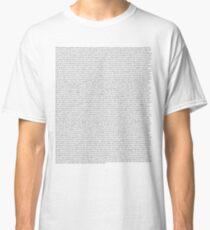 The Office pilot episode script (us) Classic T-Shirt