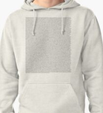 The Office pilot episode script (us) Pullover Hoodie