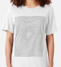 Das Office Pilot Episoden Skript (uns) Slim Fit T-Shirt