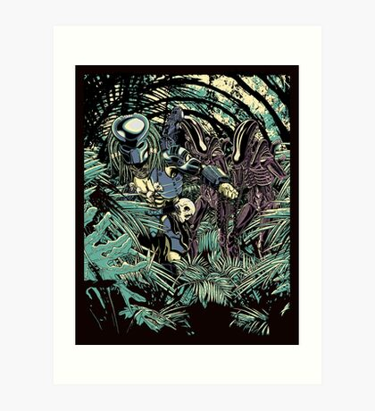 Welcome to the jungle. Art Print