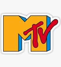 MTV Logo 1 Sticker