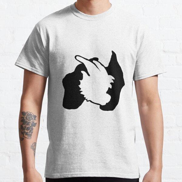 Black and White Logo Classic T-Shirt