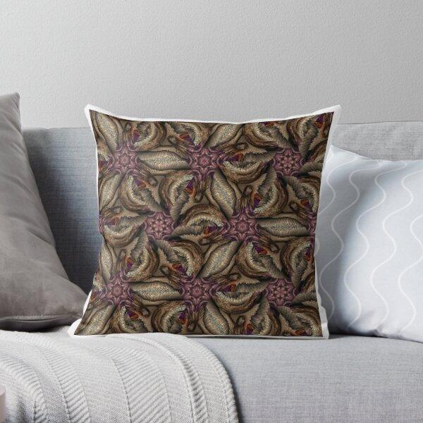 Purple Destiny Throw Pillow