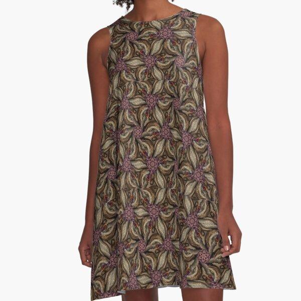 Purple Destiny A-Line Dress