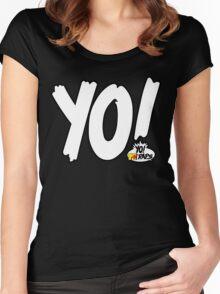 MTV Yo! Women's Fitted Scoop T-Shirt
