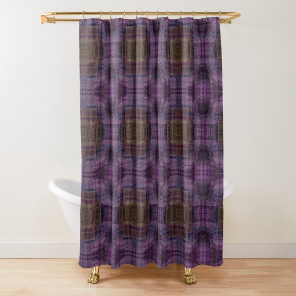 English Shower Curtain