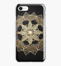 Lighted Mandala iPhone Case/Skin