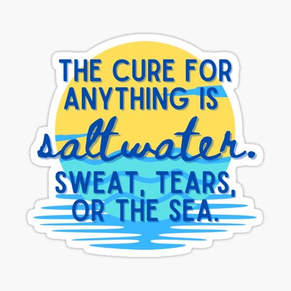 The Sea, The Cure Sticker