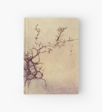 Olfactory bulb neuron - pencil and watercolor Hardcover Journal
