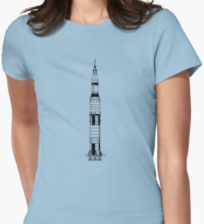 The Apollo Mission's Saturn V Rocket T-Shirt