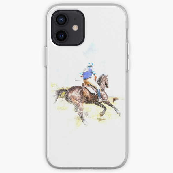 Equestrian life iPhone Soft Case