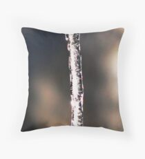 In The Grasp of Winter Throw Pillow