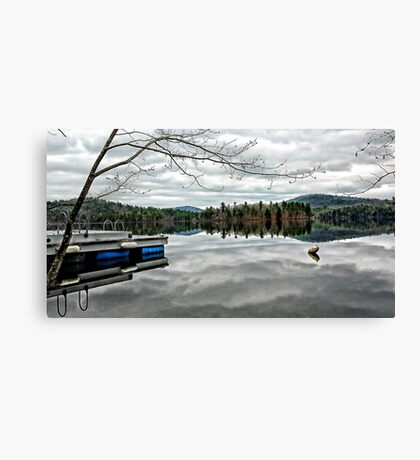 Reflections - Kezar Lake ... Lovell, Maine Canvas Print