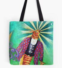 Formal Fish Tote Bag