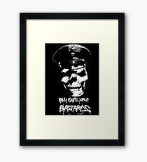 ACAB 2016 BLACK/WHITE Framed Print
