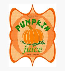 what did you expect, pumpkin juice!? Photographic Print
