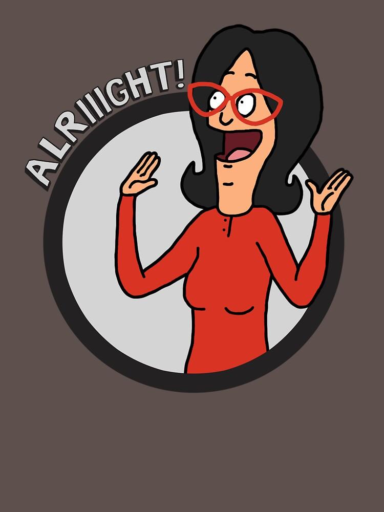 alriiight! | Unisex T-Shirt