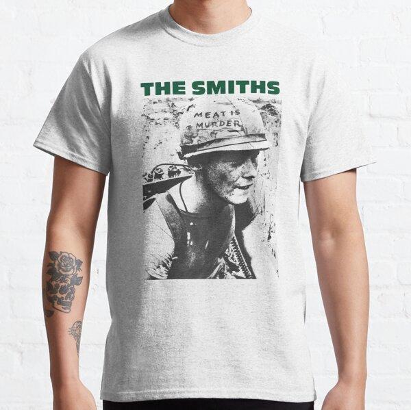 The Smiths Meat Is Murder Punk Rock Morissey Retro Unisex T Shirt Design Shirts Classic T-Shirt