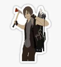 Daryl Dixon - The Walking Dead Sticker