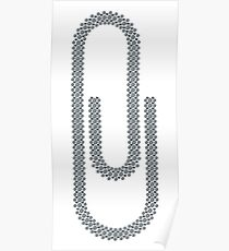 Paperclip Poster