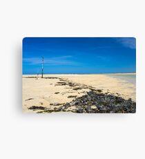 Porthkidney Sands Beach Cornwall England Canvas Print