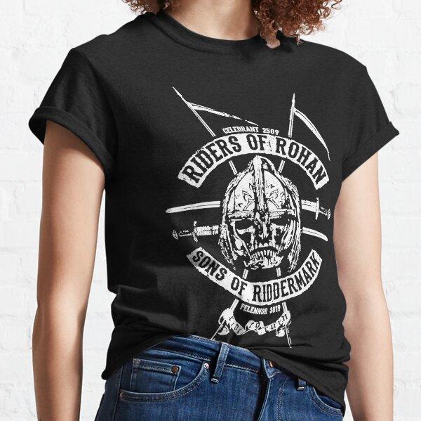 Los jinetes de la camiseta de Rohan Camiseta clásica