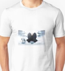 The Angel and wolf Unisex T-Shirt