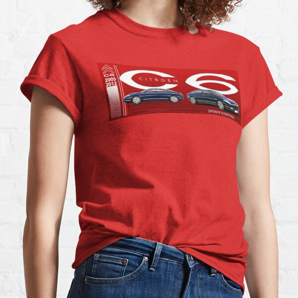 Emballage de tasse de Citroen C6 T-shirt classique