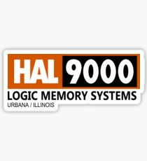 HAL 9000 - 2001 SPACE ODYSSEY Sticker