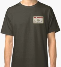Mr. Robot Patch Classic T-Shirt