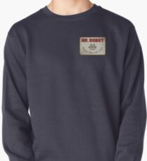 Mr. Robot Patch Pullover