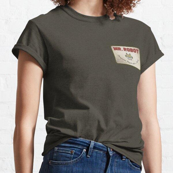 Sr. Robot Patch Camiseta clásica