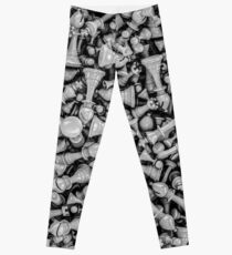 Chess B&W Leggings