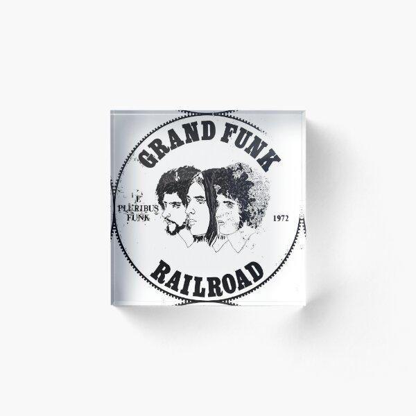Grand Funk Railroad - E Pluribus Funk. Acrylic Block