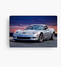2006 Corvette Z06 Coupe Canvas Print