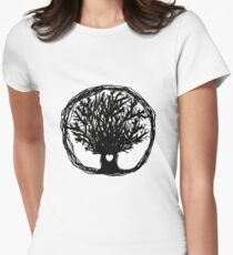 Love Life Tree Fitted T-Shirt