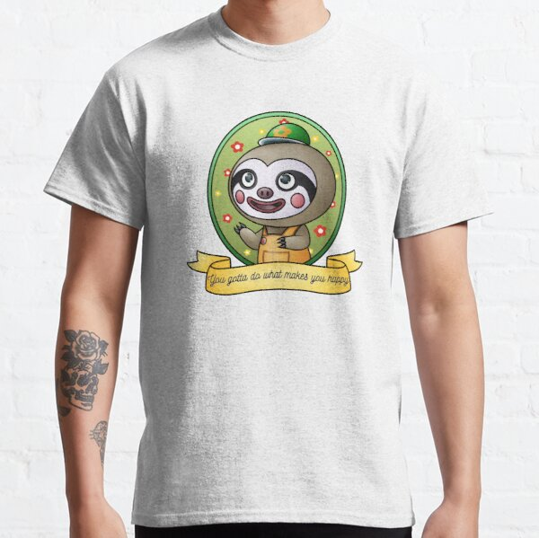 Animal Crossing - Leif - You gotta do what makes you happy Classic T-Shirt