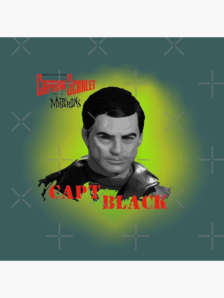 Captain Scarlet and the Mysterons Captain Black by MultistorieDog