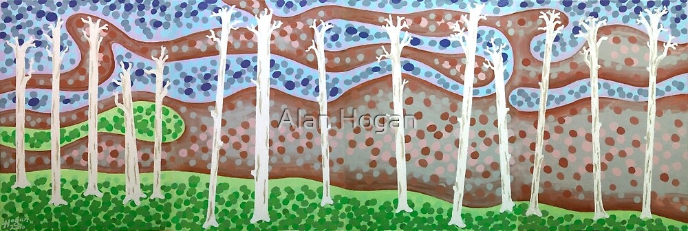 Fourteen Angry Trees by Alan Hogan