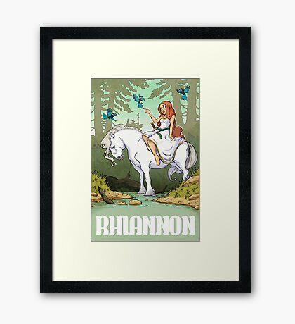 Rhiannon Framed Print