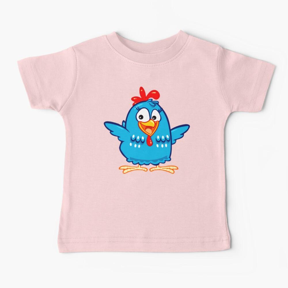 Gallina pintadita kids fun Baby T-Shirt