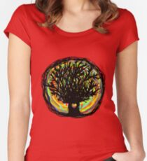 Healing Tree Women's Fitted Scoop T-Shirt