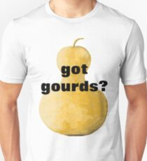 got gourds? on large arty gourd T-Shirt